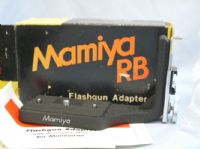 *UNUSED* MAMIYA Flashgun Adapter Boxed + Inst £19.99
